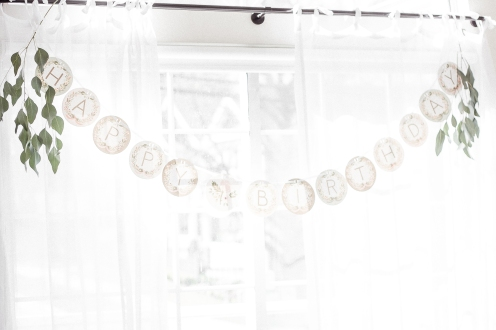 Birthday Banner BHLDN
